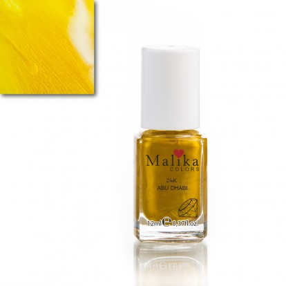 LIMITED EDITION OJA  MALIKA COLORS 12 ML COD 52B  ABU DHABI 24K